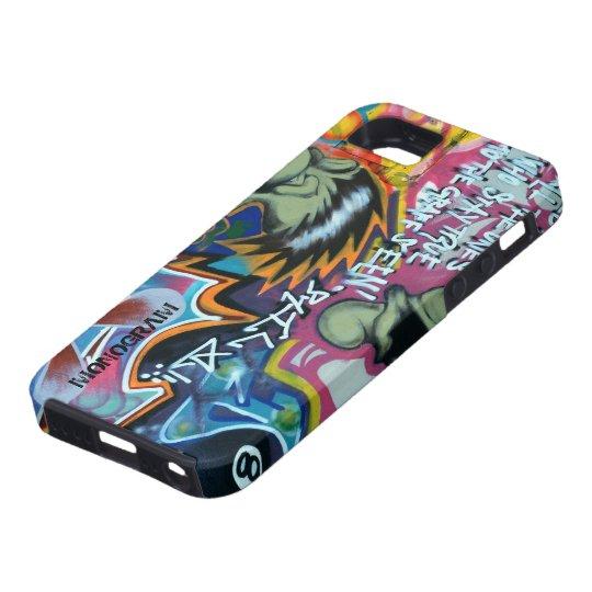 Colourful Graffiti Street Grounge Art 3-Monogram Case For