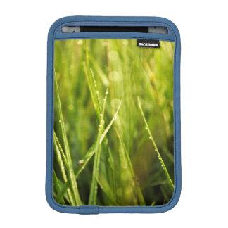 colourful green natural outdoor abstract design iPad mini sleeve