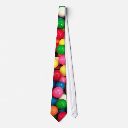 Colourful Gum Ball Candy Tie