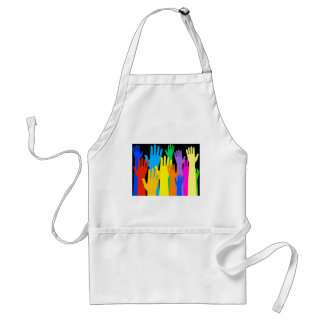Colourful Hands Standard Apron