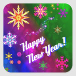 Colourful Happy New Happy Year