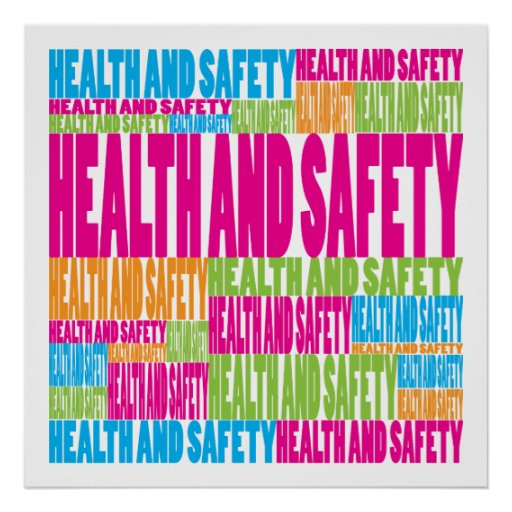 Colourful Health and Safety Poster