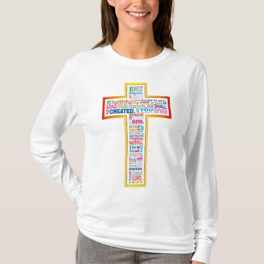 Colourful Holy Spirit Prayer T-Shirt