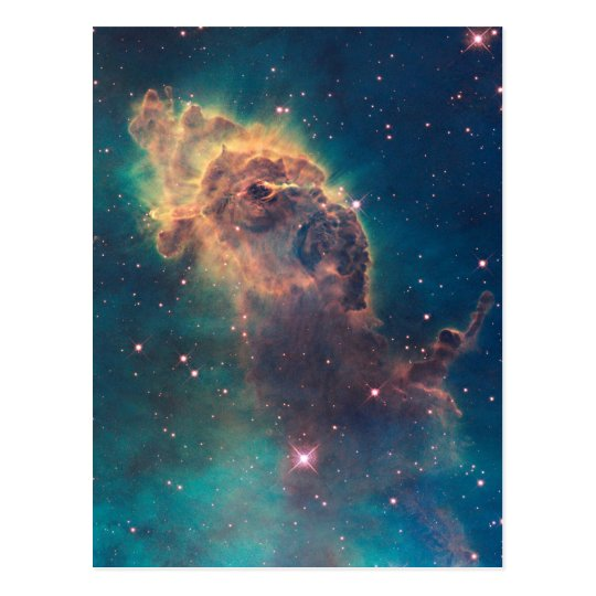 Colourful Hubble Space Telescope Carina Nebula Postcard