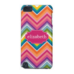 Colourful Huge Chevron Pattern with name