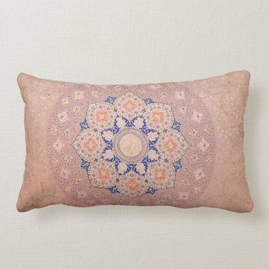 Colourful Illuminated Shamsa India Lumbar Cushion