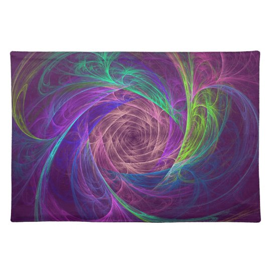 Colourful Infinity Placemats