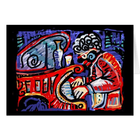 **Colourful Jazz** Card