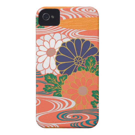 Colourful Kimono Pattern iPhone 4\4s Case