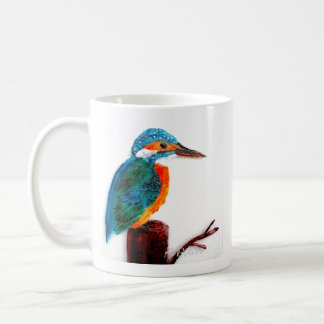 Colourful Kingfisher Art Coffee Mug