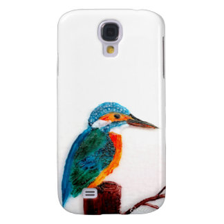 Colourful Kingfisher Art Galaxy S4 Case