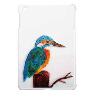Colourful Kingfisher Art iPad Mini Cover
