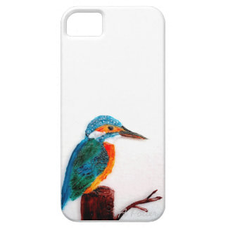 Colourful Kingfisher Art iPhone 5 Case