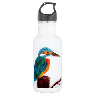 Colourful Kingfisher Bird Art 532 Ml Water Bottle