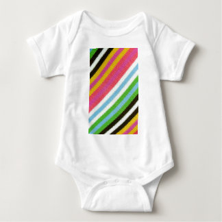 Colourful knitted background baby bodysuit
