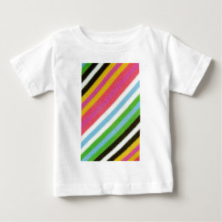 Colourful knitted background baby T-Shirt