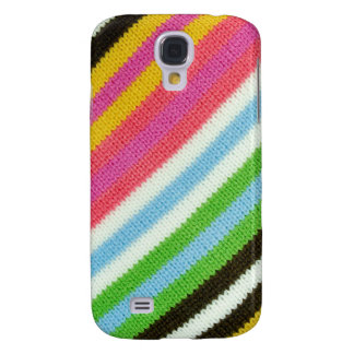 Colourful knitted background galaxy s4 case