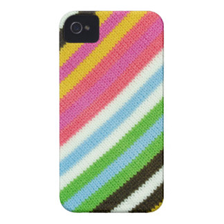 Colourful knitted background iPhone 4 Case-Mate case