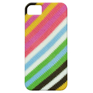 Colourful knitted background iPhone 5 cases
