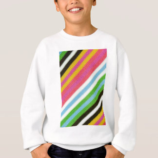 Colourful knitted background sweatshirt