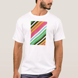 Colourful knitted background T-Shirt