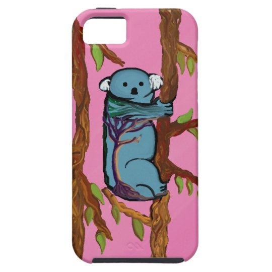 Colourful Koala on strong case