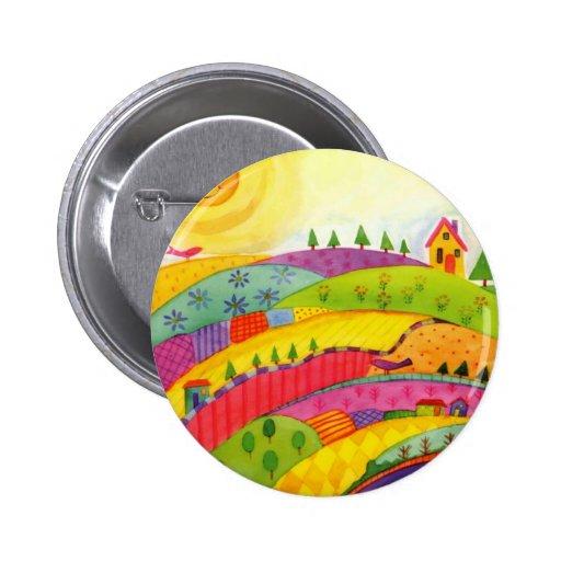 colourful landscape badges
