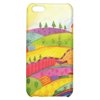 colourful landscape iPhone 5C covers