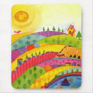 colourful landscape mousepads