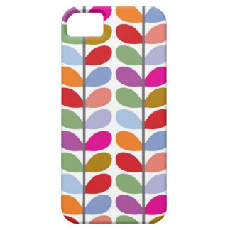 Colourful Leaf Pattern Barely There iPhone 5 Case