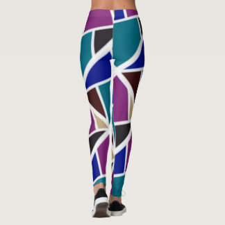 Colourful leggings