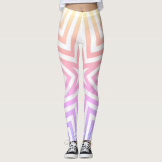 Colourful leggings for woman, daily wear