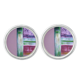 Colourful Lines Cufflinks