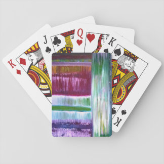 Colourful Lines Playing Cards