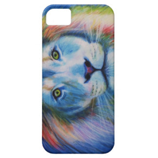 Colourful lion barely there iPhone 5 case