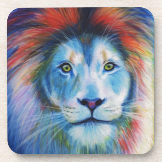 Colourful Lions Drink Coasters