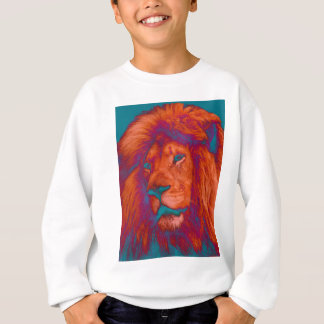 Colourful Lion's Head Sweatshirt