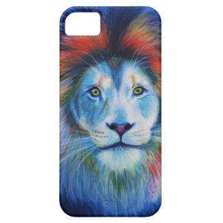 Colourful Lions iPhone 5 Cover