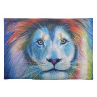 Colourful Lions Placemat