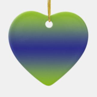 Colourful Love Heart Ornament