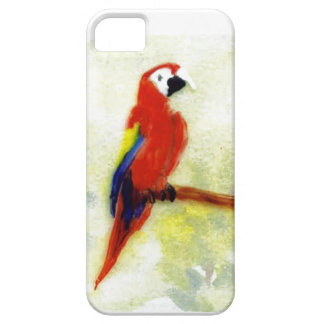 Colourful Macaw Bird Art Barely There iPhone 5 Case