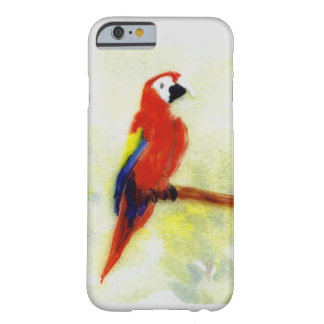Colourful Macaw Bird Art Barely There iPhone 6 Case