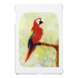 Colourful Macaw Bird Art Case For The iPad Mini