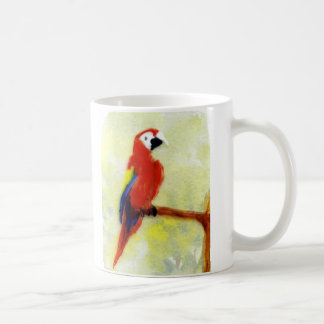 Colourful Macaw Bird Art Coffee Mug