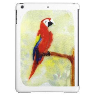 Colourful Macaw Bird Art iPad Air Cover