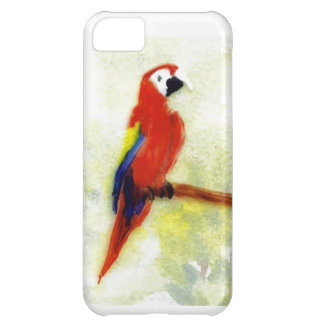 Colourful Macaw Bird Art iPhone 5C Case