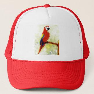 Colourful Macaw Bird Art Trucker Hat