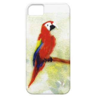 Colourful Macaw Parrot Art iPhone 5 Cases