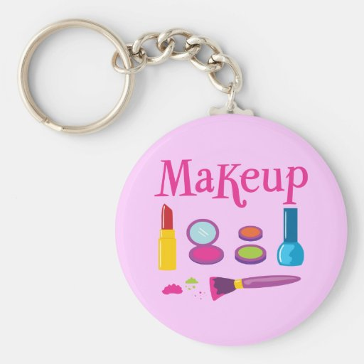 Colourful Makeup Keychains