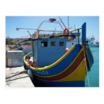 Colourful Maltese Fishing Boat